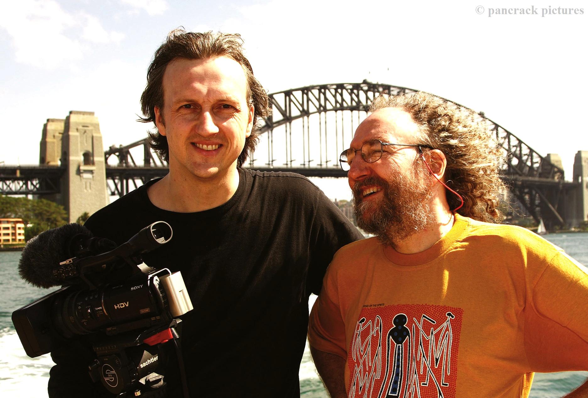 Filming Vin Garbutt, Sydney 2007